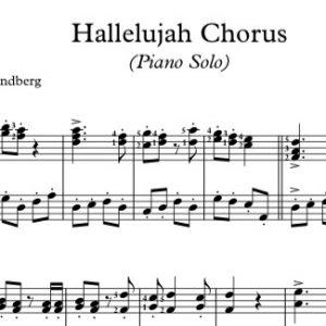 Hallelujah Chorus (Piano Solo)