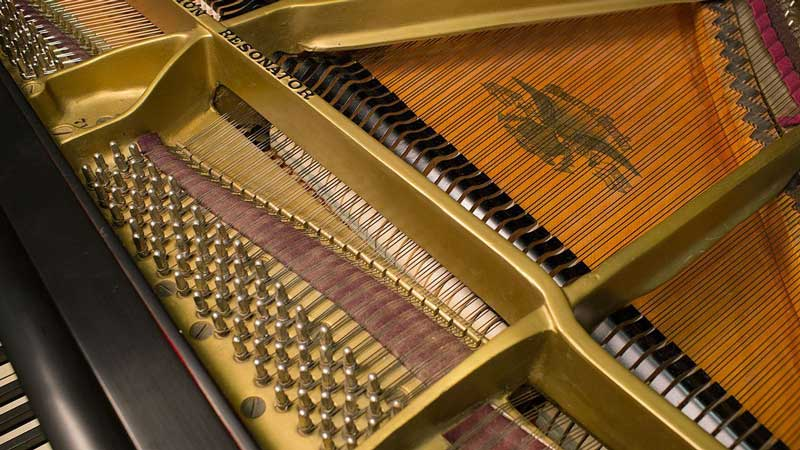 Inside of a Piano