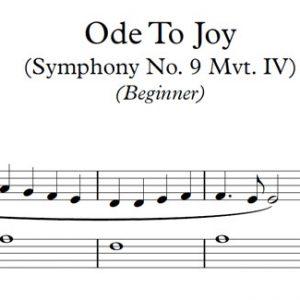 Ode to Joy (Piano)