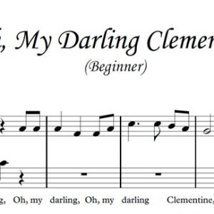 Oh, My Darling Clementine (Piano)