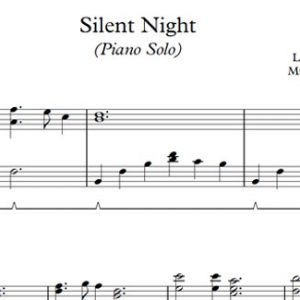 Silent Night (Piano)