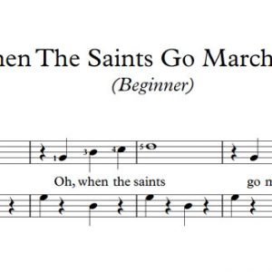 When The Saints Go Marching In (Piano)