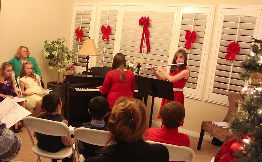 flute recital student performance