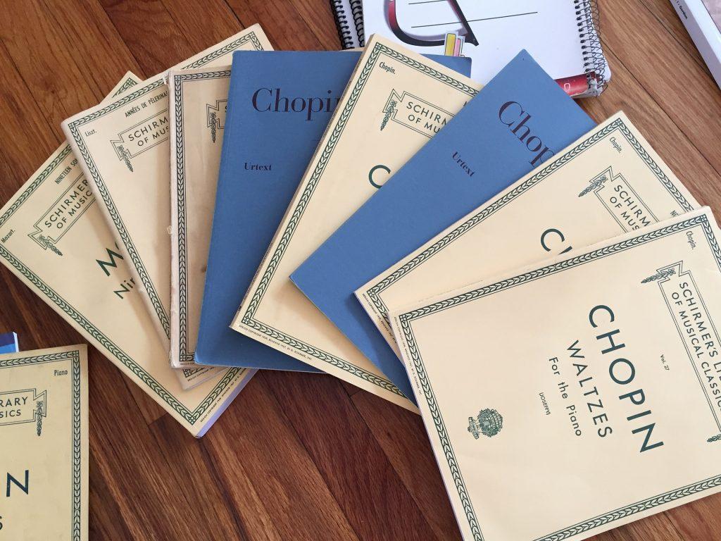 Chopin piano books