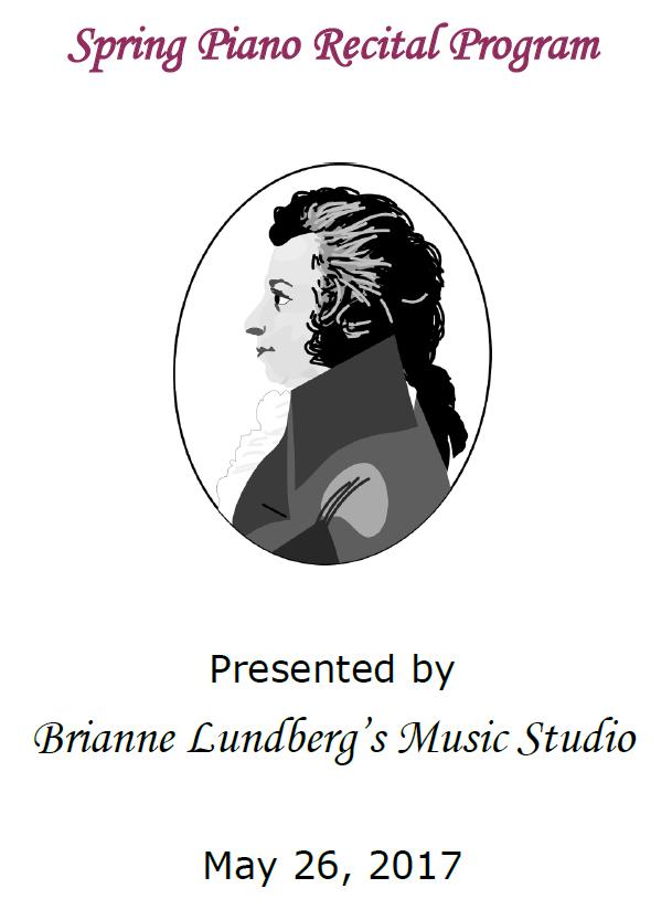 MusicalBri Spring Piano Recital 2017