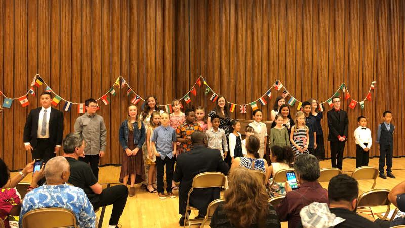 Spring Piano Recital 2019: Music from Around the World