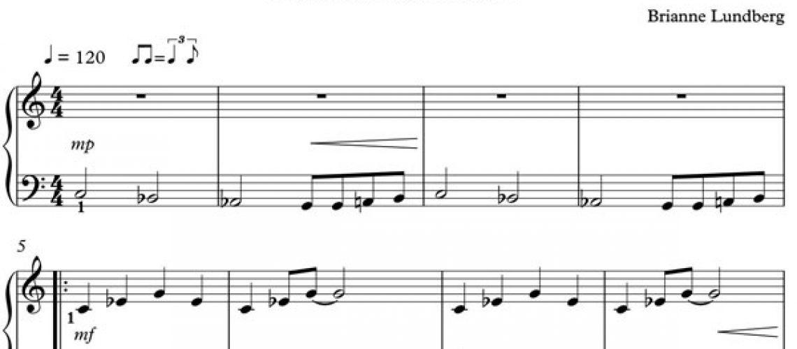 Halloween Piano Sheet Music - Tombstone Boo's